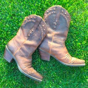 ARIAT Rowdy Dixie Boots Women's Size 9.5 B 21286